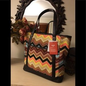 Missoni for Target collaboration  tote